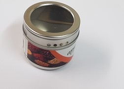 Magnetic Spice Can with Window