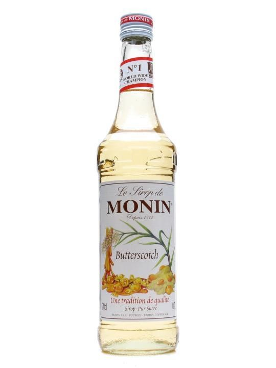 Monin Flavoured Syrup 700ml Butterscotch