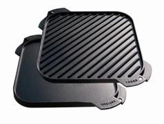 Lodge Single Burner Reversible Griddle 26cm