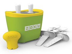 Zoku Duo Quick Pop Popsicle Maker Green