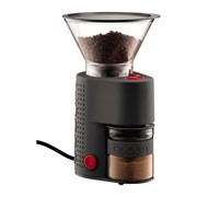 BISTRO Electric coffee grinder, Black with Hopper