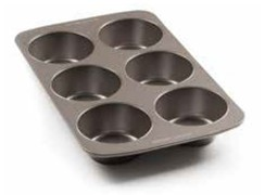 Bakers Secret 6 Cup Texas Muffin Tin