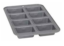 Bakers Secret Petit Loaf Pan 8 Cup