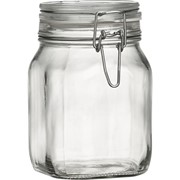 Fido 1 Litre Sq Jar