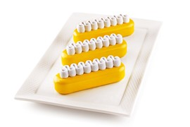 Silikomart Kit Pop Eclair - Set 2 Silicone Mould 130x38 H 40 Mm