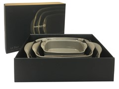 Emile Henry Ultimate Baker 3 Pce Set Flint Gift Box