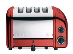 Dualit 4 Slice Toaster Candy Apple Red