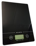 Slim Line 00943DIX Digital Scale 1g/5kg (black)