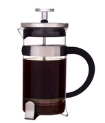 Glass Coffee Plunger 3 Cup 350ml  With Coffee Scoop