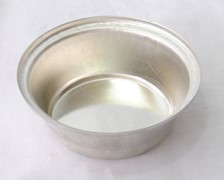 Tin Plate Very Deep Rd Pie Tin 113x42mm