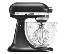 Kitchenaid Mixer Glass Bowl Black Storm