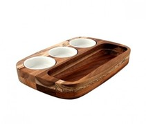 Athena Dipping Plate Set 205x300mm