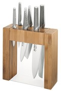 Global Ikasu Knife Block Set 7 Piece