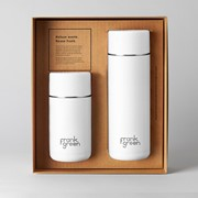 Frank Green Gift Set Ceramic Coffee Cup and Water Bottle Cloud