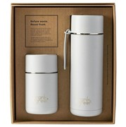 Frank Green Gift Set Ceramic Coffee Cup and Water Bottle Harbor Mist