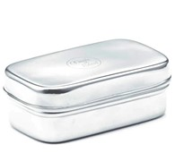 Small Snack Box Stainless Steel 10 x 6 x 4 cm