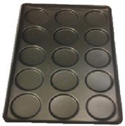 Hamburger Tray Rd Shallow (14mm) Plain