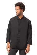 Valencia Chefs Jacket Black Large