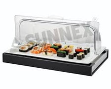 Cooling Display Set 1/1 Gastro Pan and Rolltop Cover and Frame