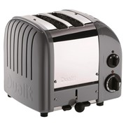 Dualit 2 Slice Toaster Black