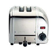 Dualit 2 Slice Toaster Polished Stainless