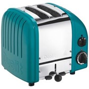 Dualit 2 Slice Toaster Water Blue