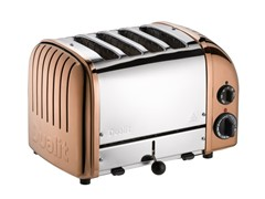 Dualit 4 Slice Toaster Copper