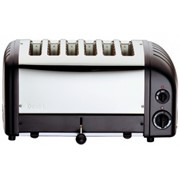 Dualit 6 Slice Toaster Black