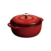 Lodge Enamel Dutch Oven 6 Qt. Red