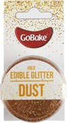 GoBake Edible Glitter Dust Gold 2g