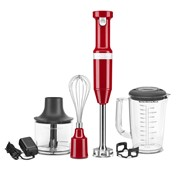 Kitchenaid Rechargeable Cordless Hand Blender Empire Red