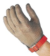 Chain Mail Glove - Large - Red