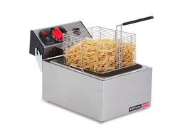 Anvil Single Tank Deep Fryer 5 Litre Tank 10amp