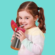 B.BOX Insulated Drink Bottle-Strawberry Shake