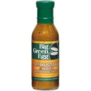 Big Green Egg Sauce Zesty Mustard ans Honey