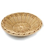 Icon Chef Basket Woven Plate Dishwasher Safe 25x6