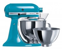 Kitchenaid Ksm160 Crystal Blue Mixer With 2.8l Bowl