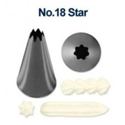 Piping Tube Stainless Steel No.18 Star