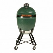Big Green Egg Large Bundle with Nest, Conveggtor,ash Tool,cover