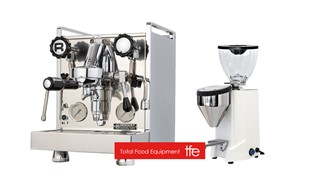 Rocket Mozzafiato Type V  and Fausto Grinder
