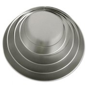 "Round Cake Tins Pressed Steel 6"" (150mm)"