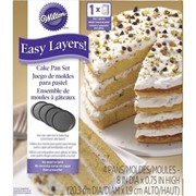 4pc Easy Layer Cake Pan