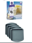 4pc Square Easy Layers Cake Pan