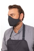 Skild Series Face Covering Mask Charcoal Each