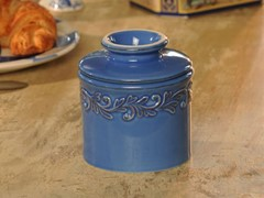 Antique Butter Bell Azure Blue