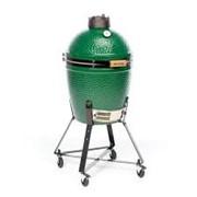 Big Green Egg Medium Bundle with Nest, Conveggtor, Ash Tool, Cover