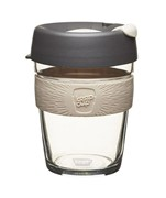 Keep Cup Glass 12oz/340ml Grey/Chai