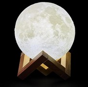 Moon Lamp Night Light with stand and Remote Control