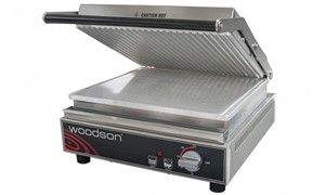 Woodson Contact Grill Rib Top 4-6 Slice 390x355